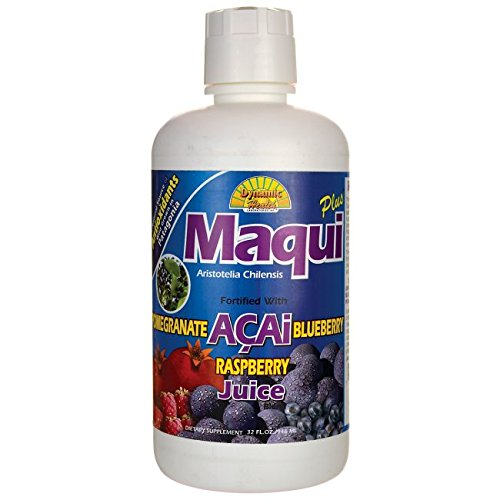 Dynamic Health Maqui Plus Juice Blend, 32 Fluid Ounce