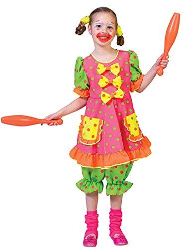 Pokey Costume (Girls Pokey Dot Clown Costume)