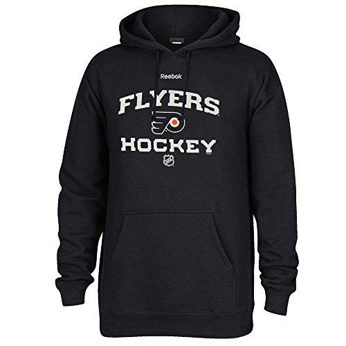 Reebok NHL Men's Jersey Crest Pullover Hoodie, Philadelphia Flyers