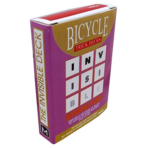 - Invisible Deck Bicycle - red