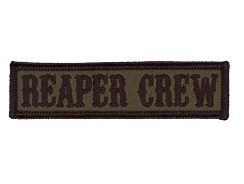 Hook Camo Green - Reaper Crew Anarchy Airsoft Tactical Moral