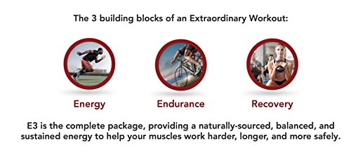 E3 Energy Endurance Electrolytes Advanced Pre-workout Energy Drink, Sport Drink - 30 Servings