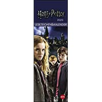 Harry Potter Lesezeichen & Kalender 2020 6x18cm