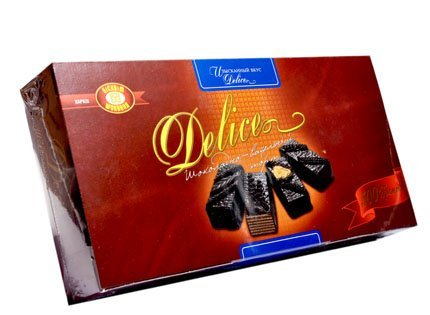 Imported Delice Chocolate and Wafer Cake 500g (Pack 3) (500g Chocolate Cake)