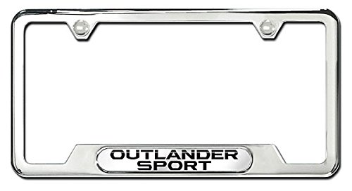 MZ314450 License Plate Frame - Outlander Sport 2015 Outlander Sport GENUINE MITSUBISHI ACCESSORIES