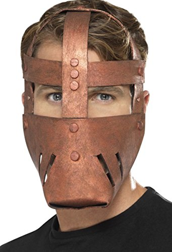 Men Ancient Empires Halloween Fancy Party Roman Warrior Mask Bronze One Size (Roman Empire Costume)