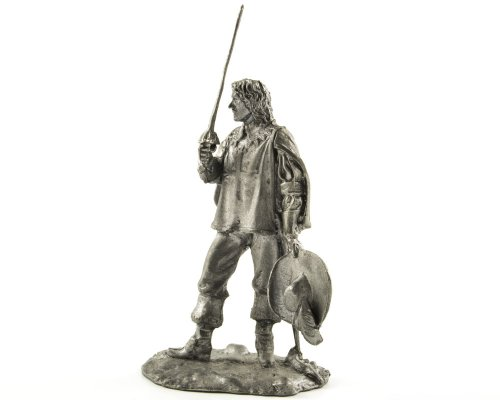 france-royal-musketeer-aramis-from-the-three-musketeers-metal-sculpture-collection-54mm-scale-1-32-m