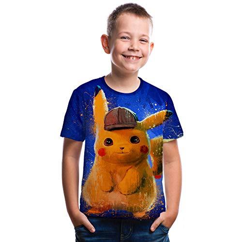 Detective Pikachu Costume Pikachu Shirt Deadpool Cute Funny Graphic Tee Humor T-Shirts ()