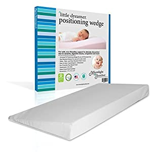 Moonlight Little Dreamer Baby Positioning Wedge Mattress...