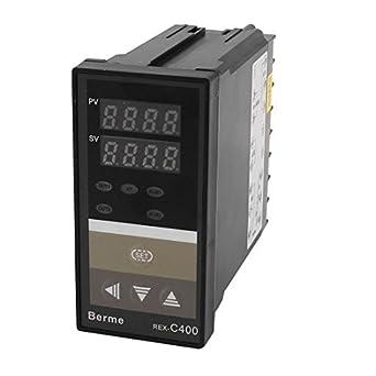 DealMux AC 110-220V LCD controlador de temperatura do termostato Sensor