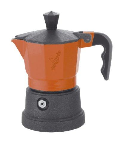 Acquisto Caffettiera Top Moka top03 Arancione – Nero Prezzi offerta
