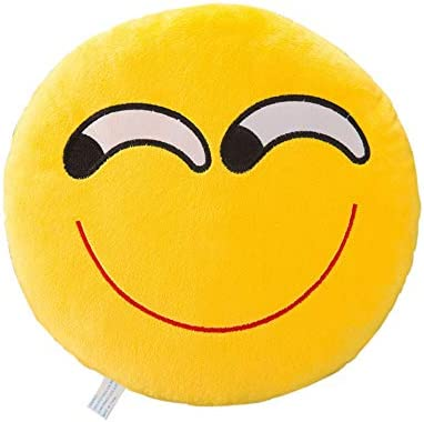 Amazon.com: huoaoqiyegu 12.6 in Smiley Expression Funda de ...