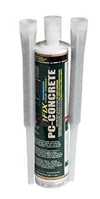 PC Products PC-Concrete Two-Part Epoxy Adhesive Paste for Anchoring and Crack Repair, Gray