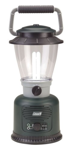 Coleman 6D Rugged Lantern with Amplifier and FM Radio, Outdoor Stuffs