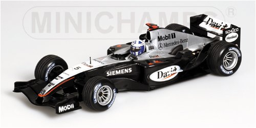 Minichamps Formula 1 Racing Car Mclaren Mercedes MP419 David Coulthard
