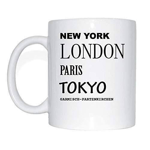 New York,London,Paris,Tokyo, Garmisch-Partenkirchen Cup of Coffee