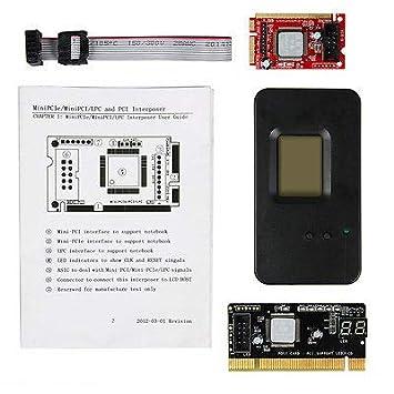 FidgetGear Mini PCI-E PC PCI Prueba de Diagnóstico Prueba ...