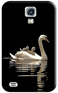 Sangu Whooper Swan Hard Back Shell Case / Cover for Galaxy S4