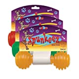 SPUNKEEZ PVC DUMBELL 5'' #35163, CASE OF 144