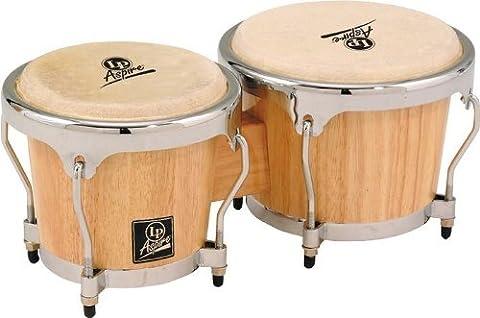 Latin Percussion LPA601-AWC Aspire Natural Wood Bongos (Lp Aspire Bongo Head)