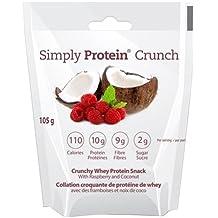 Simply Protein Crunch, Raspberry Coconut, Single Serve, 1.16 Ounce