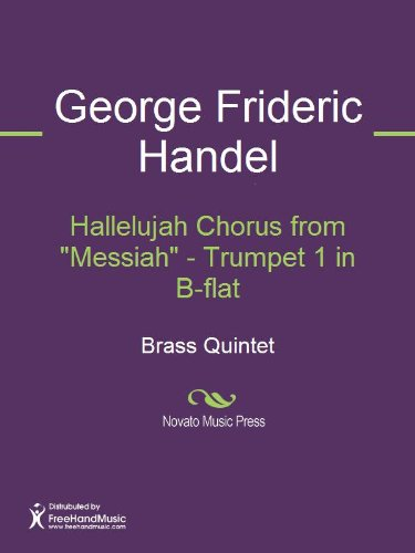"Hallelujah Chorus from ""Messiah"" - Trumpet 1 in B-flat"