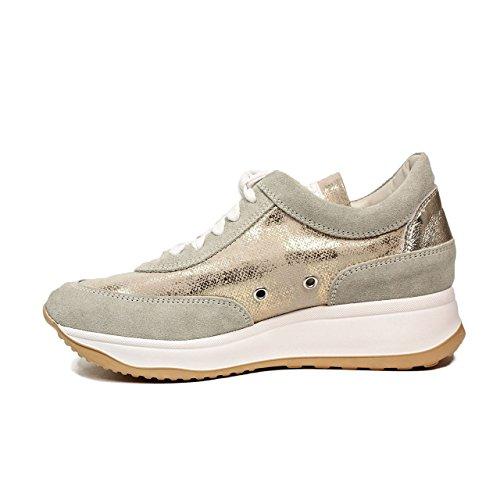 rucoline 1.304-83.012 1304 Micro Rind Sneaker Neue Goldfarbene Frühjahr-Sommer 2017 Kollektion (38)
