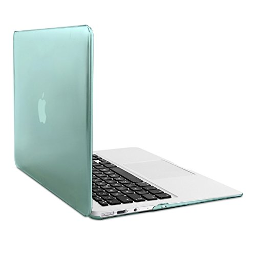 Crystal Plastic Hardcover Case (kwmobile Elegant and light weight Crystal Case for Apple MacBook Air 13
