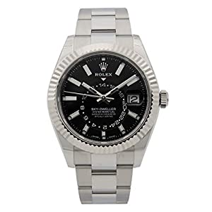 Best Epic Trends 415T0jSuL-L._SS300_ Rolex Sky-Dweller Black Dial Automatic Mens Oyster Watch 326934BKSO