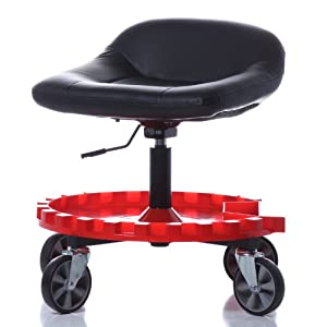 """Traxion 2-230 Monster Seat II with All-Terrain 5"""" Caster"""