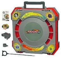 Beyblade Metal Masters Bb 36731 Mobile Beystadium Incl Rock Zurafa Bb 78 A Amazon De Spielzeug