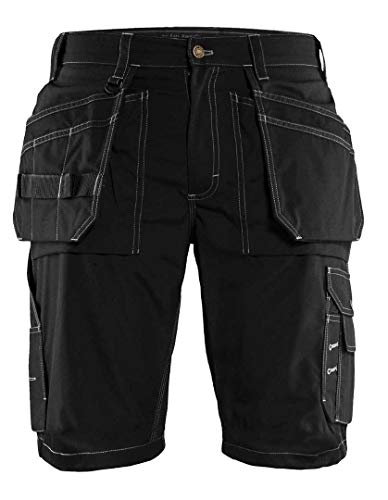 Blaklader 152518459900C58 Lightweight Craftsman Trousers, Size 42/32, Black by Blaklader (Image #1)