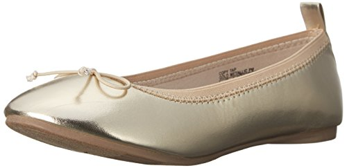 Kenneth Cole REACTION copy Tap Flat (Little Kid/Big Kid), Gold, 12.5 M US Little Kid