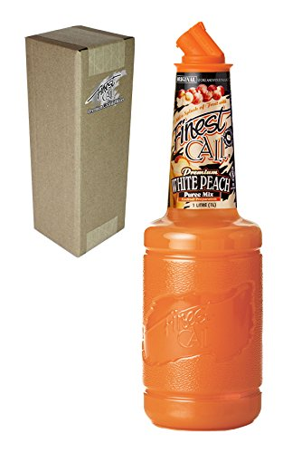 [Finest Call Premium White Peach Fruit Puree Drink Mix, 1 Liter Bottle (33.8 Fl Oz), Individually] (Yield Sign Halloween Costume)