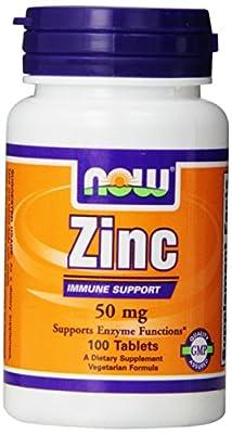 Now Foods, Zinc Gluconate 50 mg