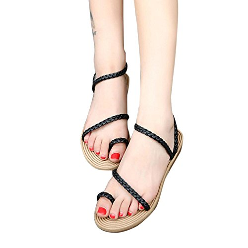 f335af5b5 best Franterd Summer Weave Sandals - Women Home Outdoor Sandals - Beach  Flat Shoes