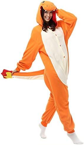 Pokemon Charmander Adult Animal Pajamas Pikachu Onesiey Kids Costume Pyjamas