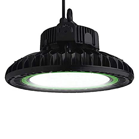 dephen led high bay light 150w 20250lm ufo high bay light fixtures rh amazon com Wiring LED Lights in Series wire led shop lights in series
