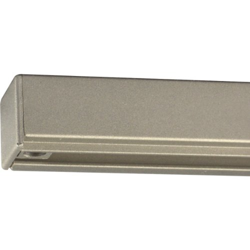 Progress Lighting P9103-09 Alpha Trak 2 Foot Section, Brushed Nickel 09 Brushed Nickel Track