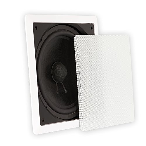Theater Solutions TS1000 In Wall Surround Sound HD Home Theater Passive (Cone Subwoofer Driver)
