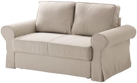 Ikea Backabro Two Seat Sofa Bed Cover Amazon De Kuche Haushalt