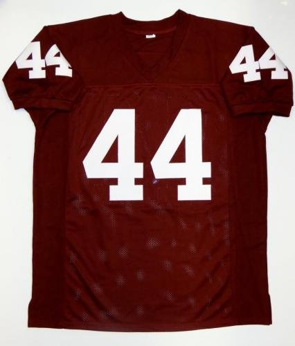 39ca73ca9 Amazon.com  John David Crow Signed Jersey - Maroon College Style w HT Auth  - JSA Certified - Autographed College Jerseys  Sports Collectibles