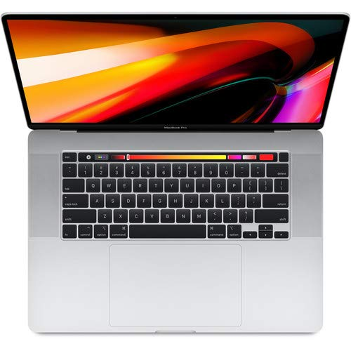 Apple MacBook Pro (de 16polegadas, Touch Bar, Processador IntelCorei7 6-Core a 2,6GHz, 16GB RAM, 512GB) – Prateado