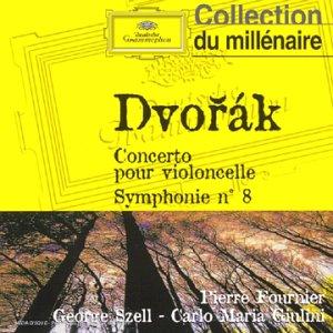 Conerto pour violoncelle et orchestre en Si mineur op. 104 ; Symphonie n°8 en Sol majeur op. 88