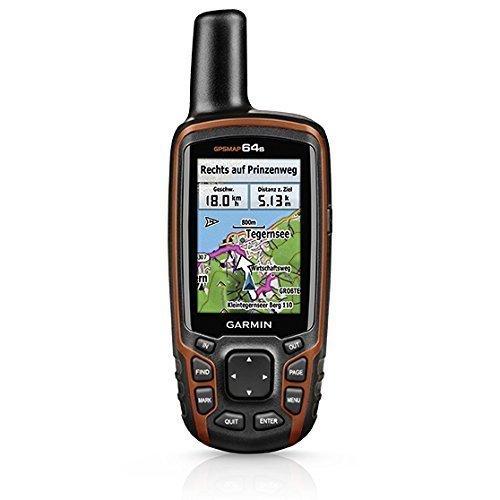 Garmin GPSMAP 64s Worldwide with High-Sensitivity GPS and GLONASS Receiver-(Certified Refurbished)