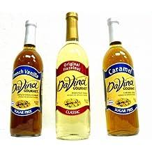 Da Vinci SUGAR FREE Macadamia Nut Syrup 750mL