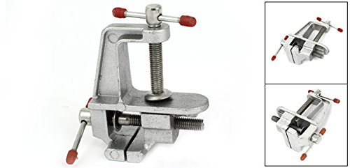30mm Dragonmarts Co Ltd // Uxcell a14120500ux0052 Uxcell DIY Jewelry Aluminum Alloy Screw Bench Table Clamp Vice