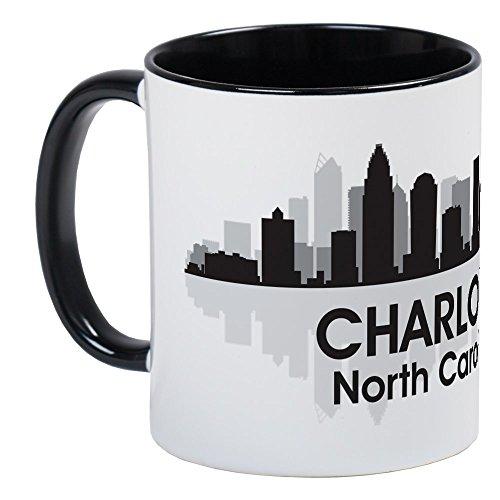- CafePress Charlotte Skyline Mug Unique Coffee Mug, Coffee Cup