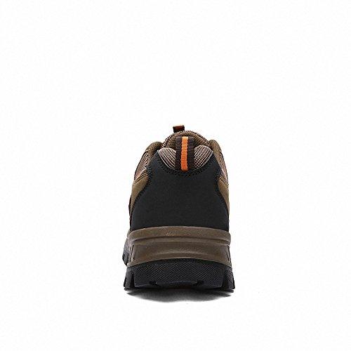Ben Sports Zapatillas de senderismo Botas de senderismo para Hombre,39-46 marrón