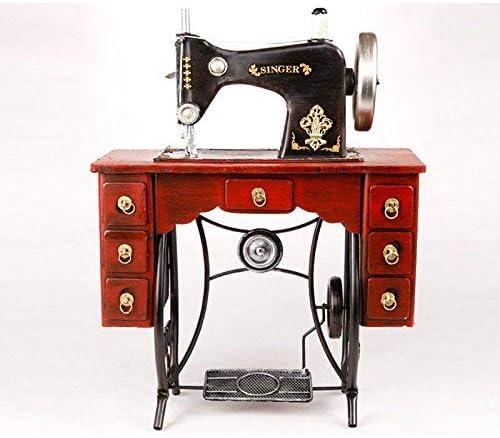 Sunshier Máquina de Coser Modelo Vintage Retro decoración Ropa ...